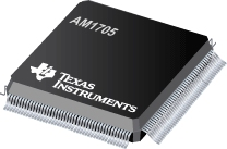 AM1705BPTP3 microprocessor chip with HLQFP package