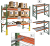 WIREWAY/HUSKY Invincible Pallet Racks -- 5779900