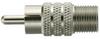 RCA Plug to F Jack -- 100-0401-TP - Image