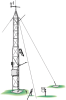 Instrument Tower & Adjustable Mast -- UT20 - Image