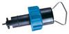 3-2536-PO - Rotor-X Low-Flow Paddle-Wheel Flow Sensor with polypropylene body, titanium shaft; 4-1/8