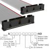 Rectangular Cable Assemblies -- A3KKB-3018G-ND -Image
