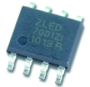 Universal LED Driver Accepts AC Voltage -- ZLED 7001
