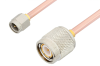 SMA Male to TNC Male Cable 18 Inch Length Using RG402 Coax, RoHS -- PE3089LF-18 -Image