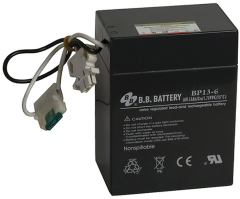 Battery with cable terminals from Digi-Key Corporation