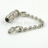 SMA Female Open Circuit Connector Cap with 2.5 Inch Chain -- SC2036 -Image