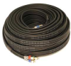 RCA Cable,RG-6,3 RCA,100 ft. -- 5RFW7