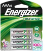 Battery, AAA, NiMH, Rechargeable, 1.2V,850 mAh, 4 Batteries per Pack -- 70145451