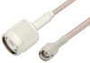 SMA Male to TNC Male Cable 12 Inch Length Using RG316-DS Coax -- PE34246-12 -Image