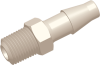 Commercial Grade Barb to Thread Straight Connector Male -- AP012518FA25N -- View Larger Image