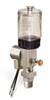 "(Formerly B1763-5X00), Single Feed Electro Lubricator, 2 1/2 oz Polycarbonate Reservoir, 3/8"" Male NPT, 120V/60Hz -- B1763-0021B1S31206W -- View Larger Image"