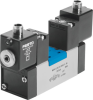 Air solenoid valve -- MDH-5/3B-D-2-M12D-C -- View Larger Image