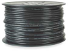 Cable,Coax,Rg6, Quad Shield, 1,000' Blck -- 3ZK59