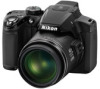 Nikon CoolPix P510 Black 16.1mp 42x (24-1000mm) Optical Zoom Camera - 3in Vari-Angle LCD Monitor - Full 1080p HD - GPS -- 26329