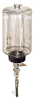 "(Formerly B1745-7X11), Manual Chain Lubricator, 1/2 gal Polycarbonate Reservoir, 1/4"" Round Brush Nylon -- B1745-064B1NR1W -- View Larger Image"