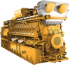 Cat 60Hz North America Gas Generator -- CG170-20-Image