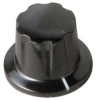 Skirted Knob,17/32,1/4X13/32 PH,8-32 SS -- 1910CV