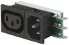 IEC Appliance Inlet C14 with modular extended Components -- Felcom 64 -Image