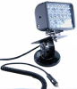 24 LED Emitter Light on Adjustable Locking Magnetic Base - 4320 Lumens - 72 Watts- 9-42V -- LEDLB-24-ALMB