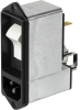 IEC Appliance Inlet C14 with Filter, Circuit Breaker TA45 (recessed) -- DF12 - Image