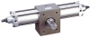 Heavy Duty Pneumatic & Hydraulic Rotary Actuator -- 1000-8000