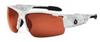 Ergodyne Skullerz DAGR-PZYT Polarized Safety Glasses Copper Lens - Kryptek Yeti Frame - Half Frame - 720476-52621 -- 720476-52621