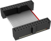 Rectangular Cable Assemblies -- FFSD-12-D-03.00-01-F-N-ND -Image