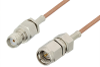 SMA Male to SMA Female Cable 36 Inch Length Using RG178 Coax, RoHS -- PE3056LF-36 -Image