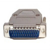 StarTech.com Assembled DB25 Male Solder D-SUB Connector with -- C25PSM