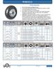 Pneumatic Wheel -- P-W6-CH-B-RB-1/2