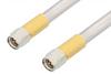 SMA Male to SMA Male Cable 48 Inch Length Using PE-SR401AL Coax , LF Solder -- PE34184LF-48 -Image