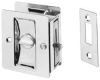 Pocket Door Pull,Satin Chrome -- 891.26D