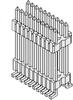 Micro Pitch Board-to-Board Terminal Strip -- HDWM Series - Image