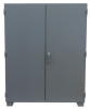 SUPER RUGGED 12 GAUGE SECRUITY CABINET -- HMJ248-BL