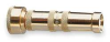 Adjustable Twist Nozzle,Solid Brass -- 1HLV6 - Image