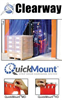 PVC STRIP DOORS WITH QUICKMOUNT™ HARDWARE -- HM121012SS