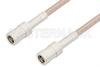 SMB Plug to SMB Plug Cable 60 Inch Length Using RG316-DS Coax, RoHS -- PE33704LF-60 -Image