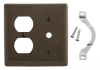 Standard Wall Plate -- NP128 - Image