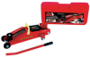 2-TON TROLLEY JACK WITH 360º ROTATING HANDLE IN PLASTIC CASE -- T82361