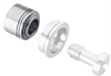 N10 Self-Clinching Receptacle Nuts - Metric -- N10-M5-1-ZI