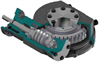 Heavy-duty Quarter-turn Nuclear Rated Worm Gearboxes, IWN Range - Image
