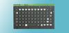 KI6800 Series NEMA 4 Sealing OEM Miniature Keyboard