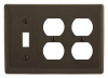 Standard Wall Plate -- NP182 - Image