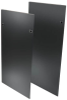 48U SmartRack Heavy-Duty Open Frame side panels with latches -- SR48SIDE4PHD