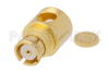 SMP Female Right Angle Connector Solder Attachment for RG405, PE-SR405AL, PE-SR405FL, PE-SR405FLJ, Up To 8 GHz -- PE45248 -Image