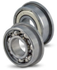 Flanged Ball Bearings-Open & Shielded Type - Inch -- BB#RFX-6XXX