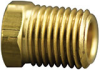 Fisnar 560757 Brass Hex Head Plug Connector 0.25 in NPT Male -- 560757 -Image