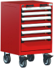 R Mobile Cabinet, 6 Drawers (24
