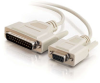 10ft DB9 Female to DB25 Male Modem Cable -- 2301-02519-010 - Image