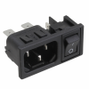 Power Entry Connectors - Inlets, Outlets, Modules -- 708-1878-ND -Image